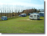 Camping and Caravan Park in Mundesley, Norfolk, UK.